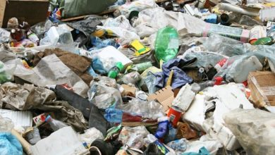 Photo of UNCOLLECTED GARBAGE IN COMPOUNDS WORRYING
