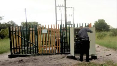 Photo of Vandalised Zesco installation replacements cost K56,000
