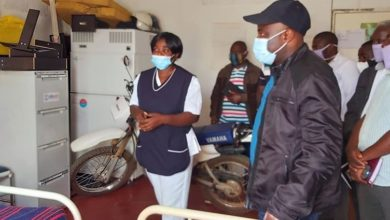 Photo of Kampyongo commissions Yosamu Health Post