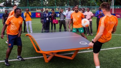 Photo of Teqball pro league on cards