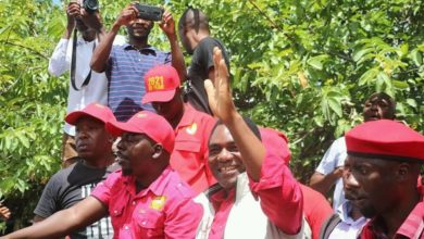 Photo of UPND under siege