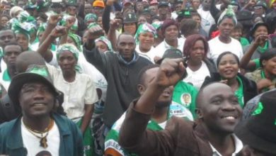 Photo of UPND in Mafinga crumbles