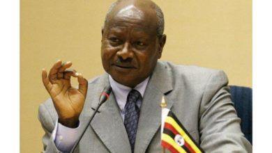 Photo of Museveni nominated for election by Uganda's ruling party