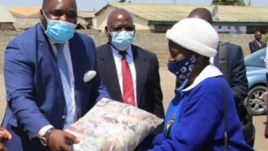 Photo of Lusaka lawyer donates masks to SDA church