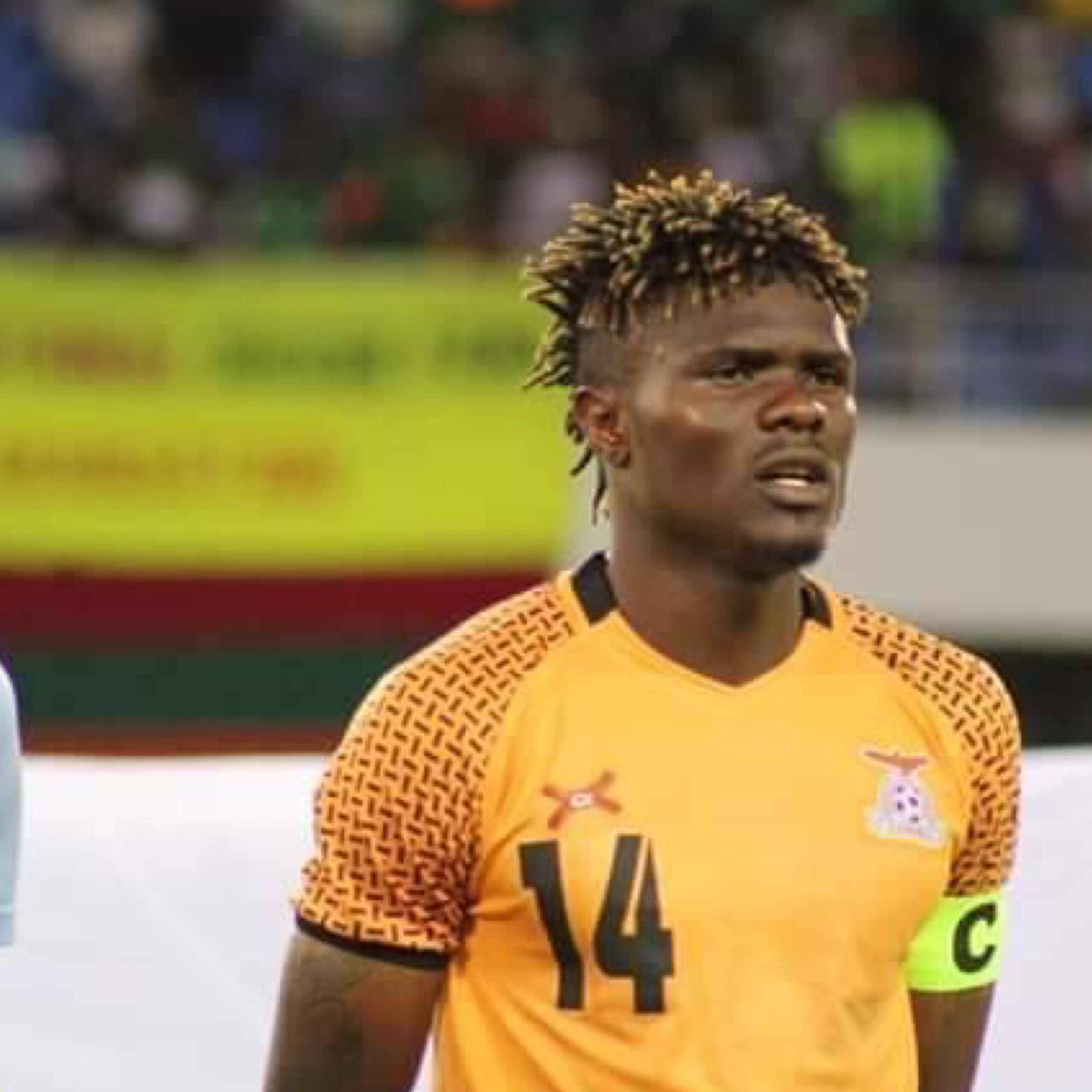 Photo of Chongo chased from Chipolopolo camp