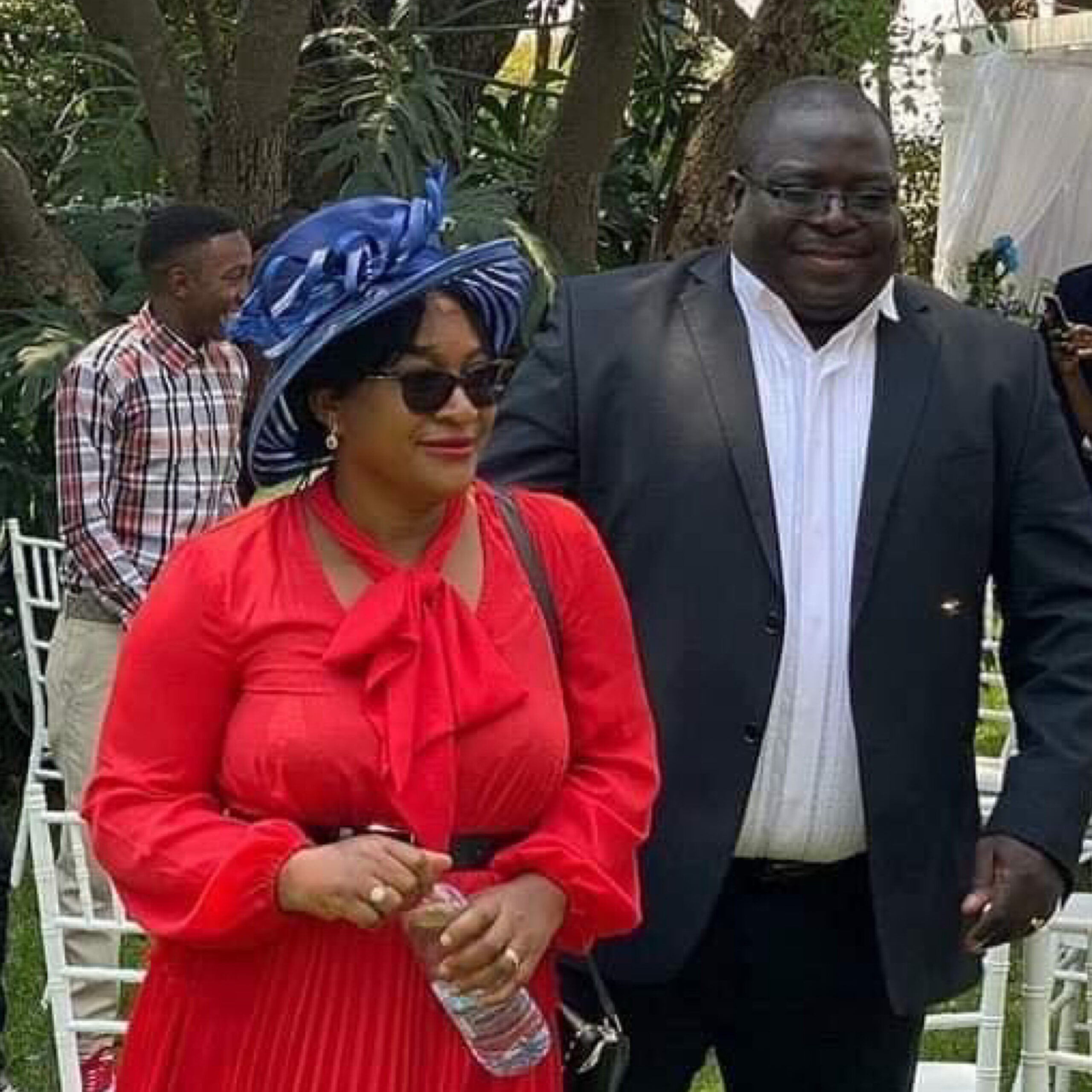 Photo of Kambwili's wife describes hubby's K300, 000 cash bail conditions as outrageous