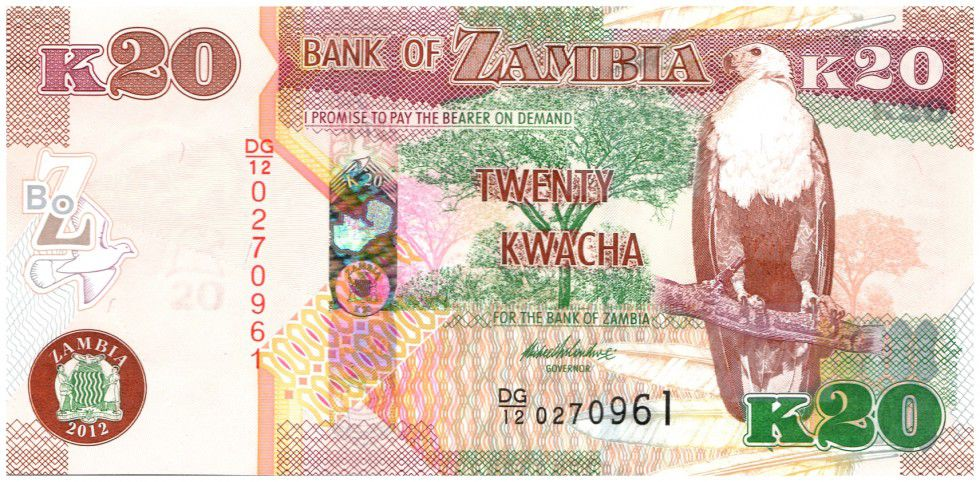 Photo of Kwacha settles at K20 per dollar