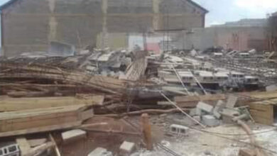 Photo of Building collapses, kills one