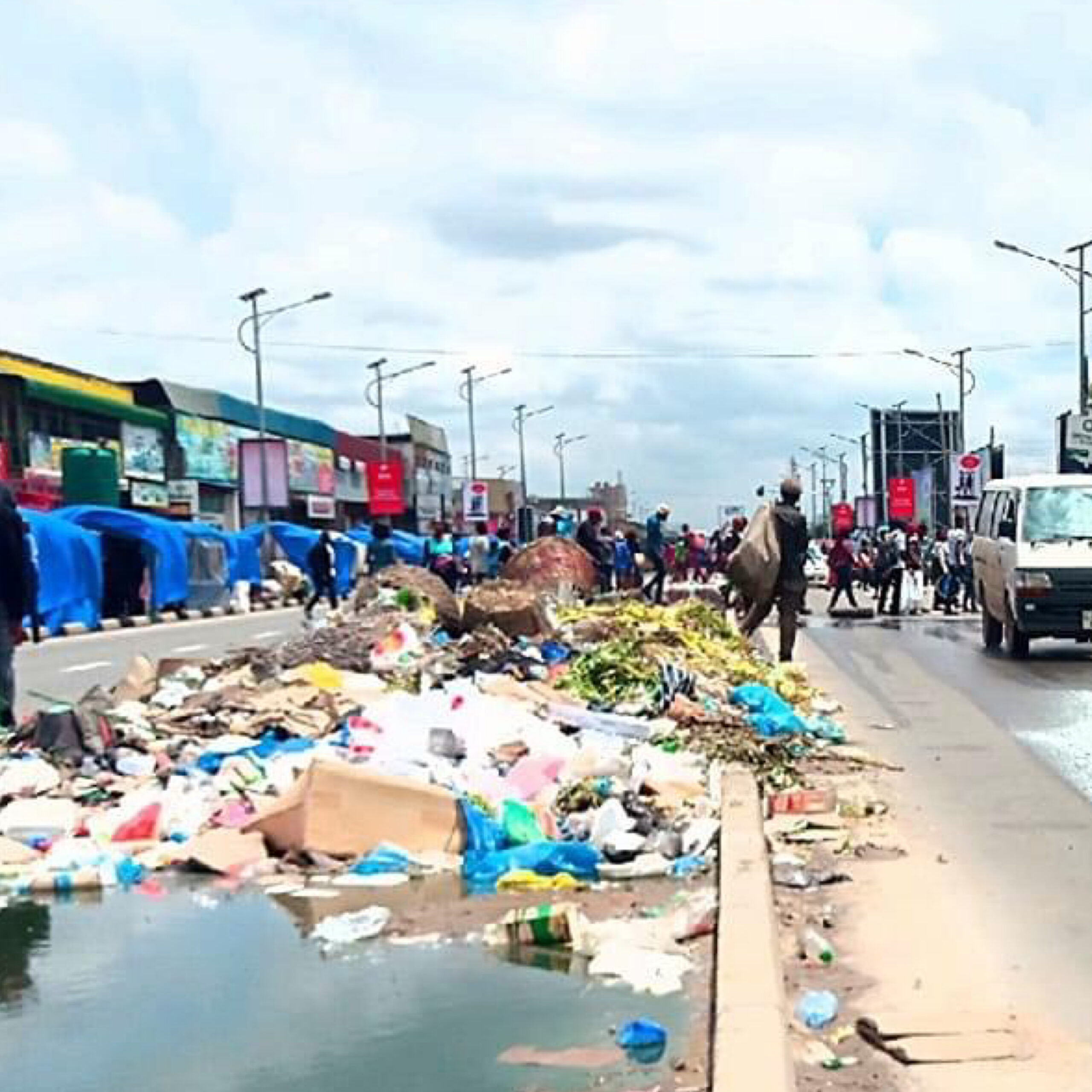 Uncollected heaps of garbage in Lusaka's CBD a recipe of cholera outbreak